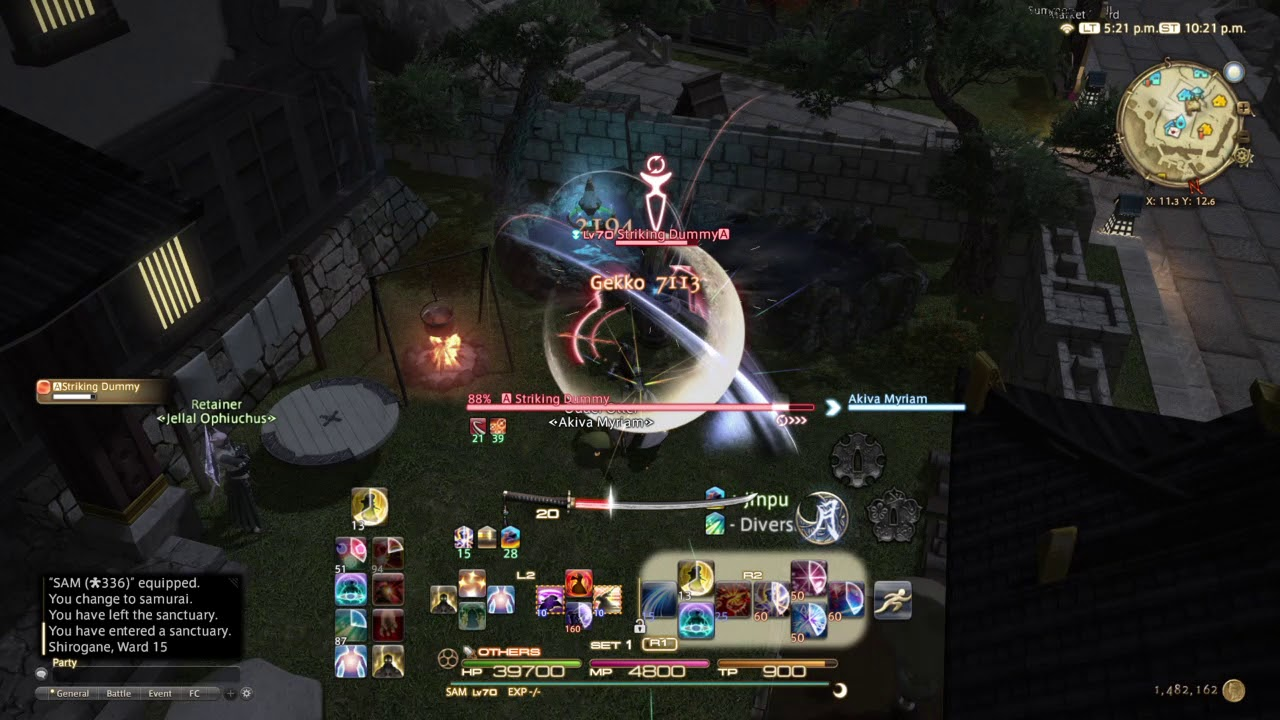 FFXIV 4 2 Samurai Rotation