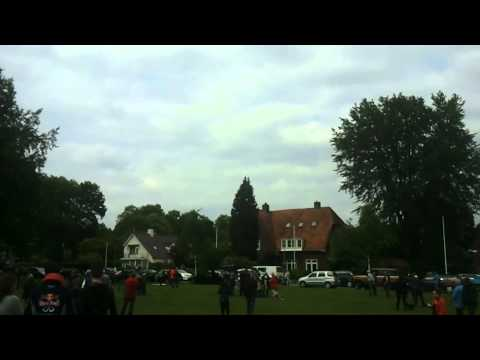 liberation day the netherlands-lancaster flyby