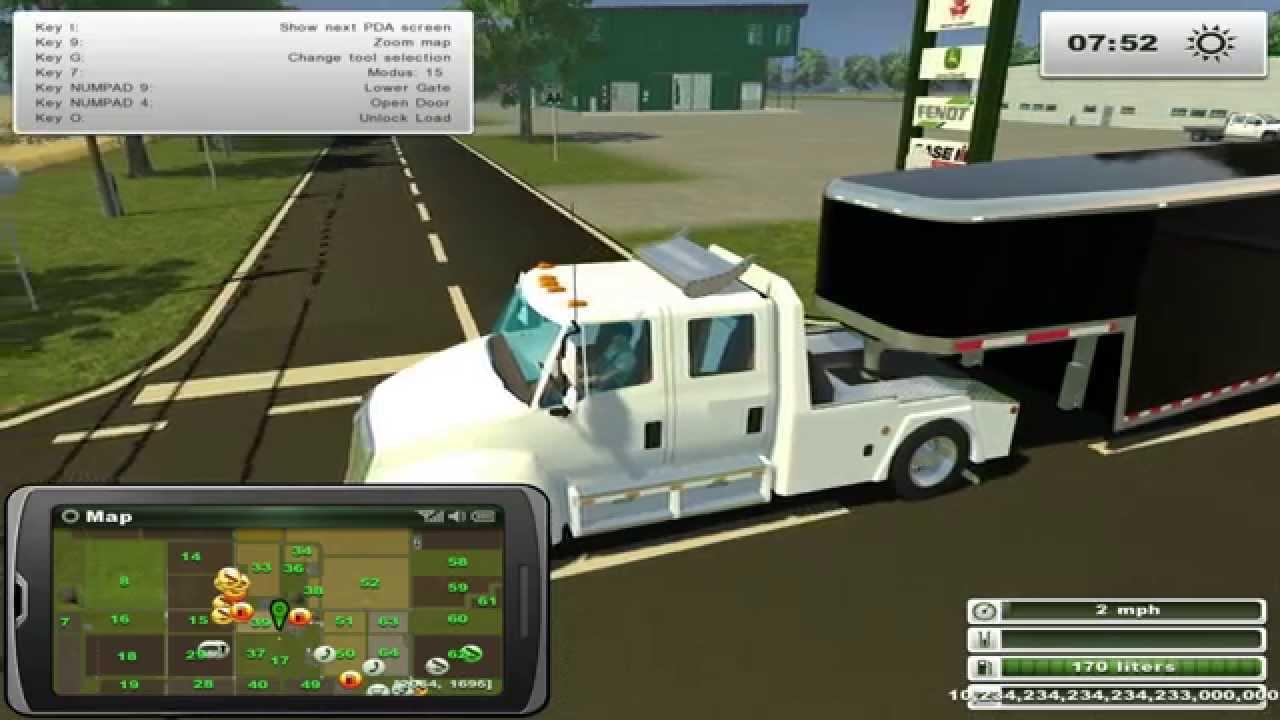 Farming Simulator 2013 Hauling Hot Shot Trucking In