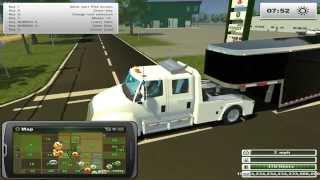Farming Simulator 2013 Hauling-  Hot Shot Trucking In Missouri!