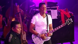 Jermaine Jackson playing Most Valuable Guitar at BBC Proms in the Park (2015)