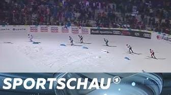 Nordische Ski-WM: Frenzel und Rydzek sprinten zum Sieg   Sportschau