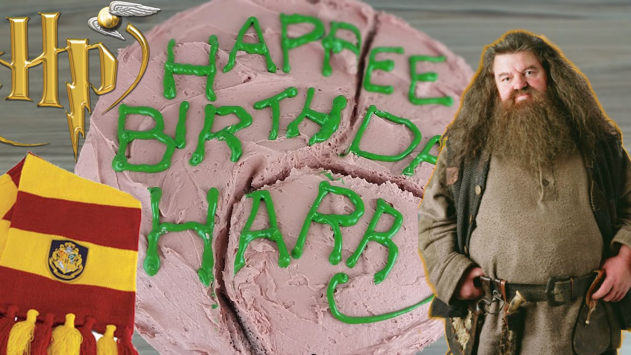 Harry Potters Birthday Cake From Hagrid