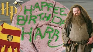 Harry Potter S Birthday Cake From Hagrid How To Video CarlyToffle