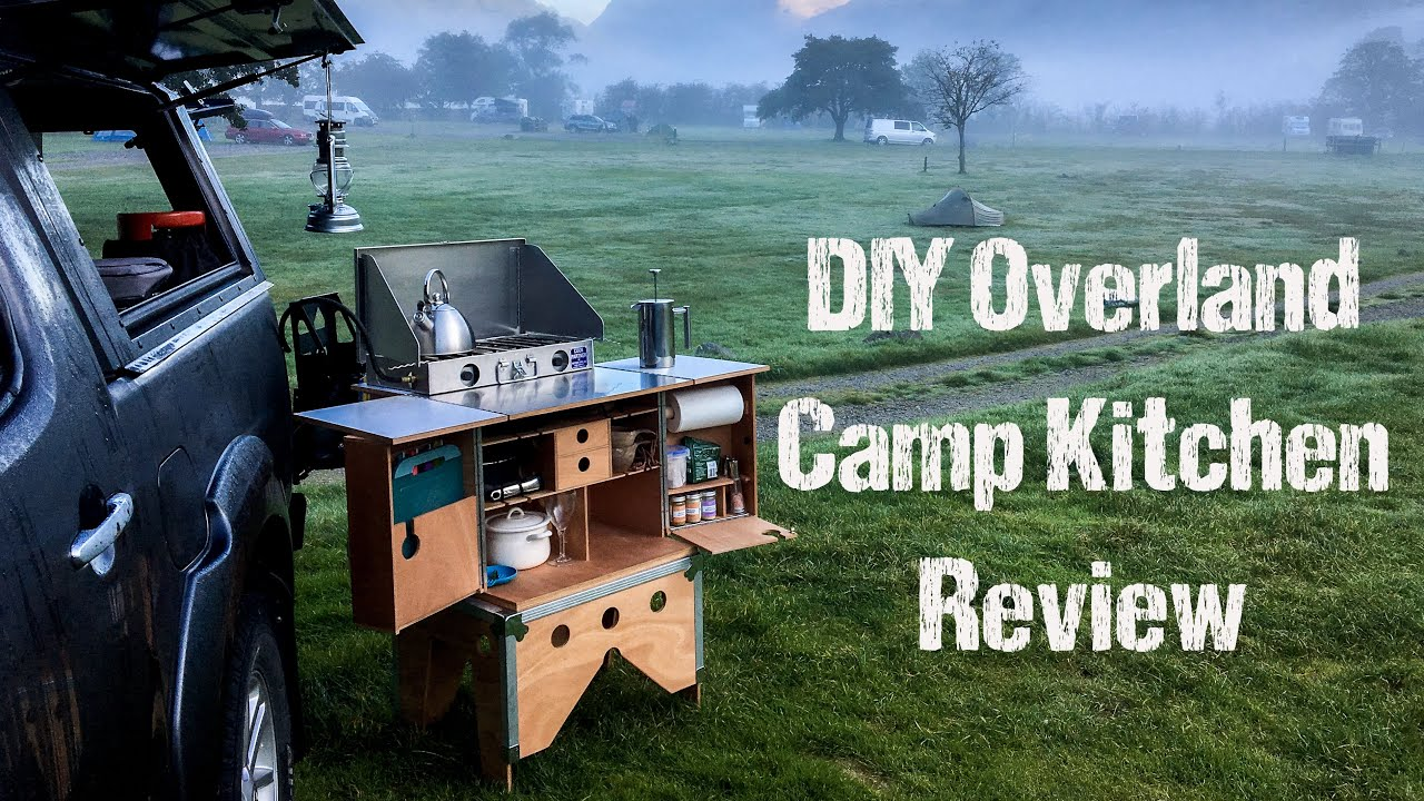 The Diy Overland Camp Kitchen Chuck Box Patrol Box Campervan Outdoors Cooking Youtube