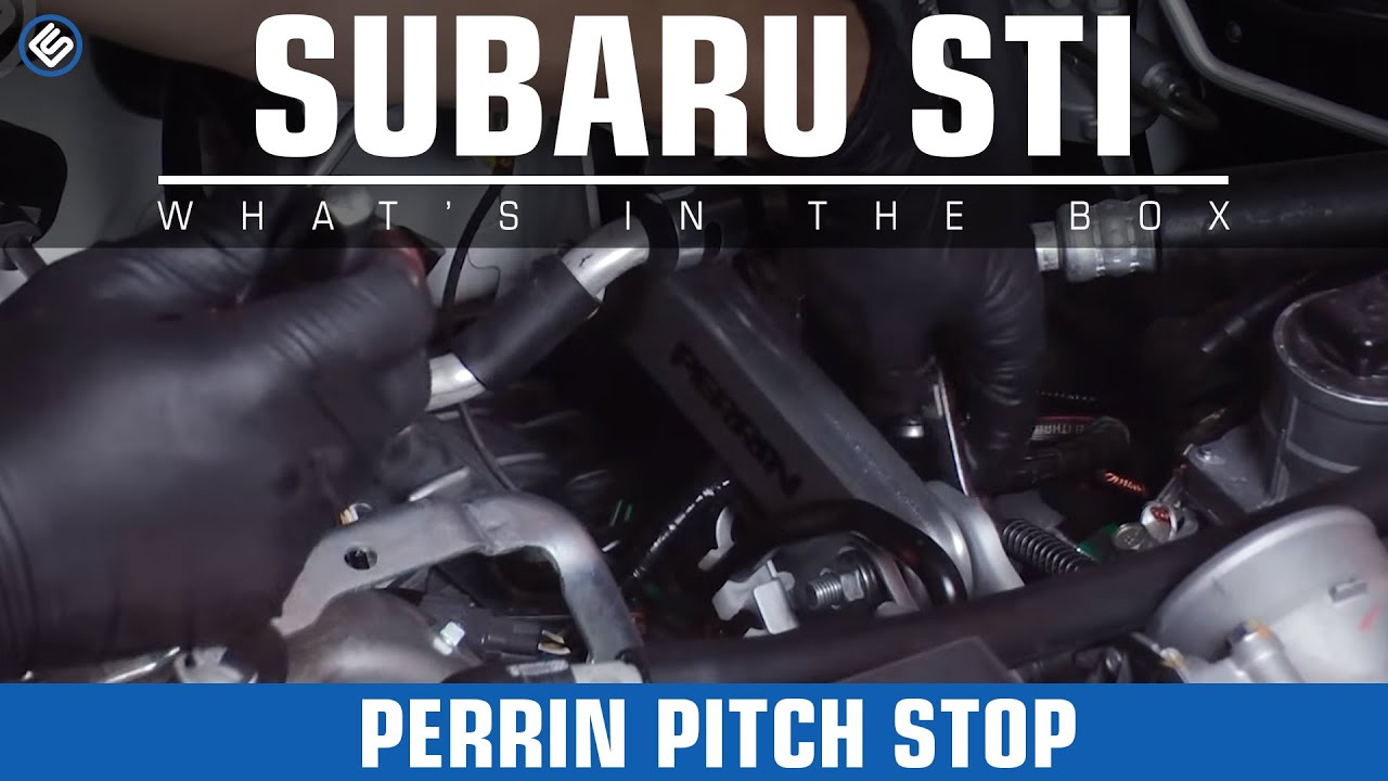 Subaru Premium 2014 >> Perrin Pitch Stop, Motor/Transmission Mounts - 2015 Subaru STI Install/Before-After/Review - YouTube
