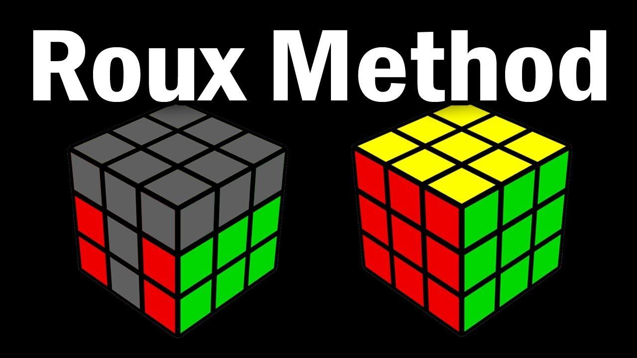 Download 3x3 Roux Speedsolving Method Overview (for CFOP Solvers)