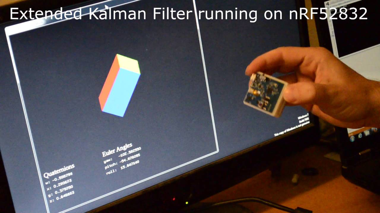 Extended Kalman Filter running on an nRF52832 in real time