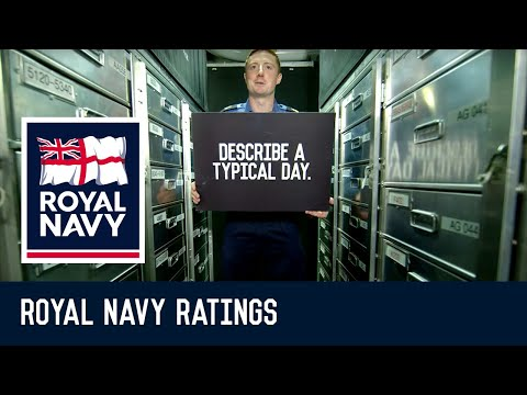 What's it like being a Supply Chain Logistician in the Royal Navy?