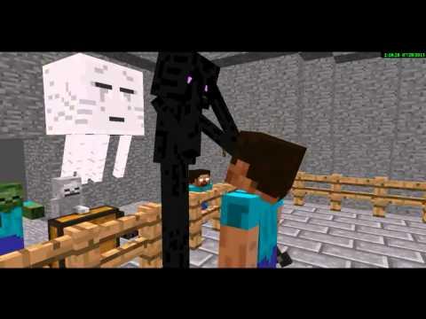 Monster School: Crafting (Minecraft Animation)