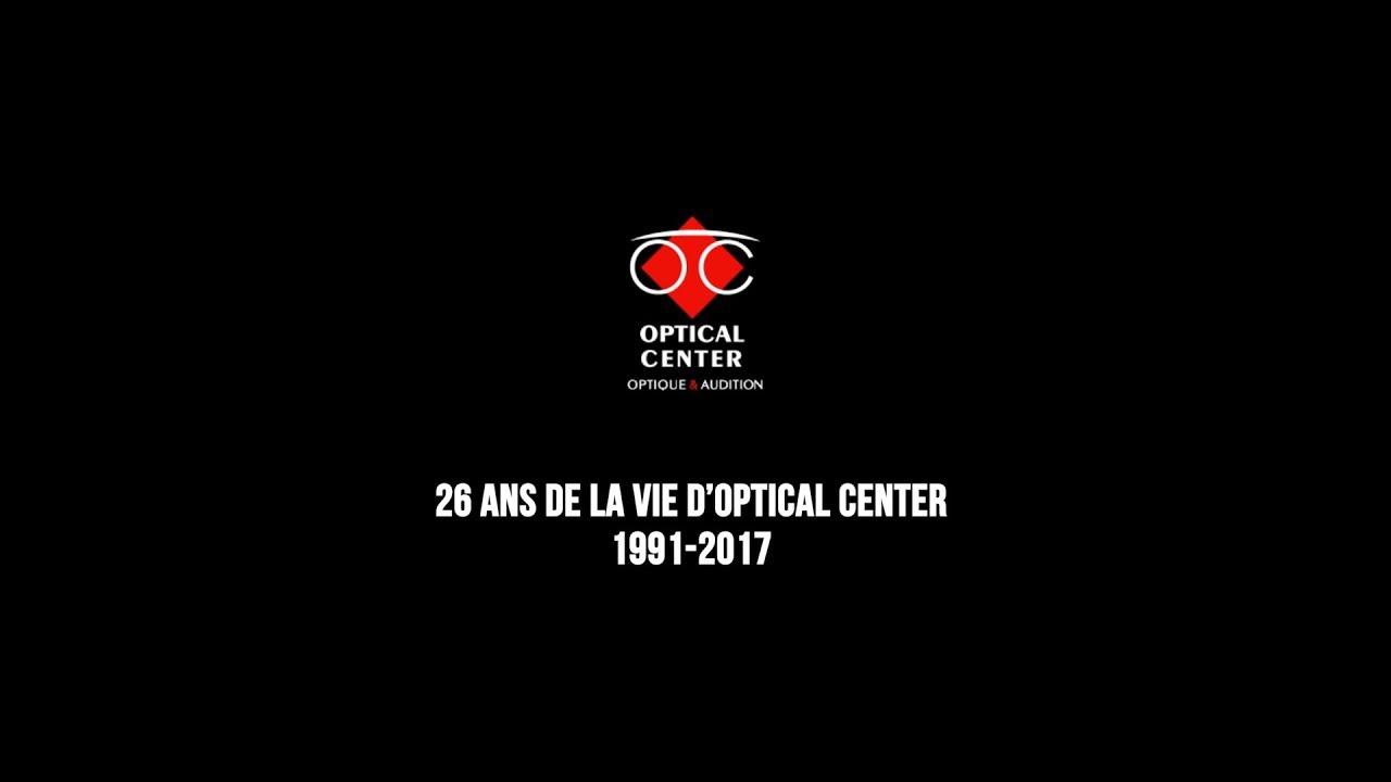 6bbcf9fa0a7b8 26 ans de la vie d Optical Center - YouTube