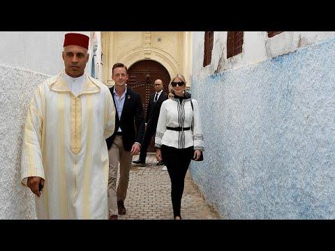 إيفانكا ترامب تدعو لتعزيز استقلالية المرأة وحقوقها خلال جولة في المغرب…  - 12:53-2019 / 11 / 8