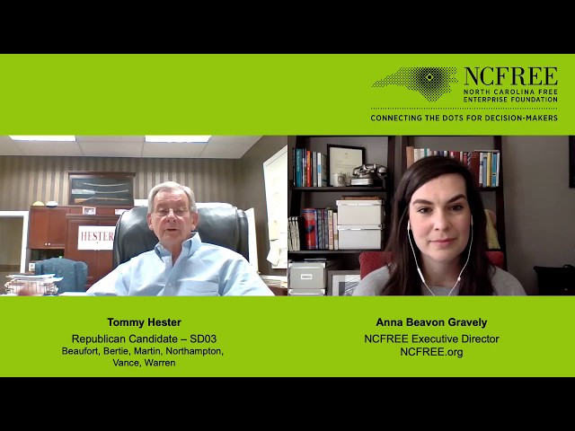 NCFREE Candidate Interview - Tommy Hester - SD-03