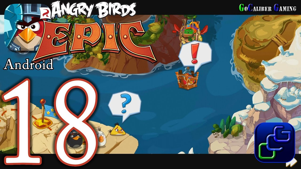 ANGRY BIRDS Epic Android Walkthrough - Part 18 - Bamboo ...