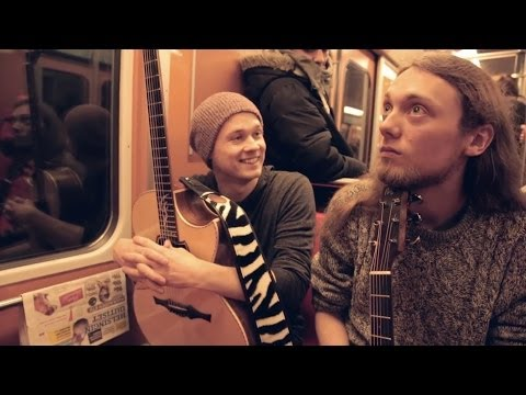 Mike Dawes & Petteri Sariola - Freestyler (Acoustic Bomfunk MC's cover) @ Luomustudio-sessiot
