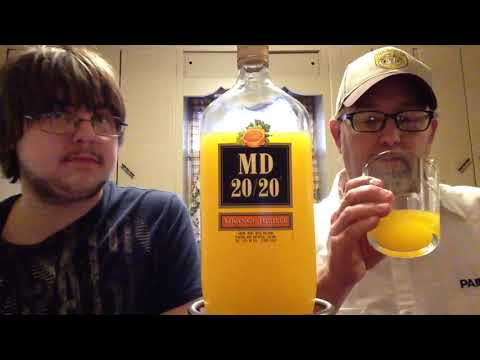 The Beer Review Guy # 787 MD 20/20 Orange Jubilee 13% abv (for Sub Ken yo Trainer)