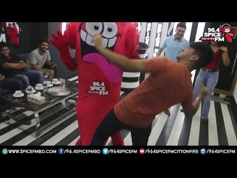 TBT Salman Muqtadir TheBrownFish Dance on Spice FM