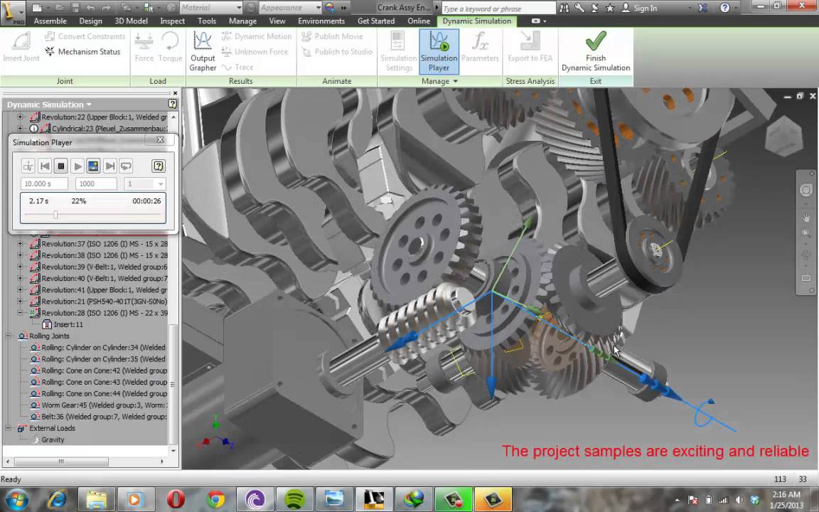 Autodesk Inventor Dynamic Simulation Tutorial Book ...