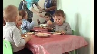 Режимные моменты. Ясельная группа детского сада.
