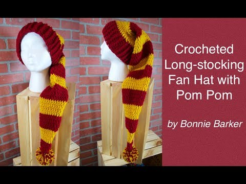How to Make a Longstocking Fan Hat with a Pom Pom 952d2ee4519
