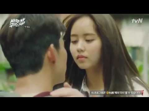 FULL Kiss Scene Let's Fight Ghost Korean Drama