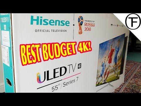 Hisense 55U7A ULED HDR 4K Ultra HD Smart TV Review