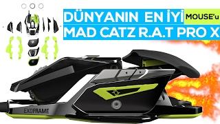 DÜNYANIN EN İYİ MOUSE'UNU İNCELİYORUZ - TR'de ilk! (Mad Catz Rat Pro X)