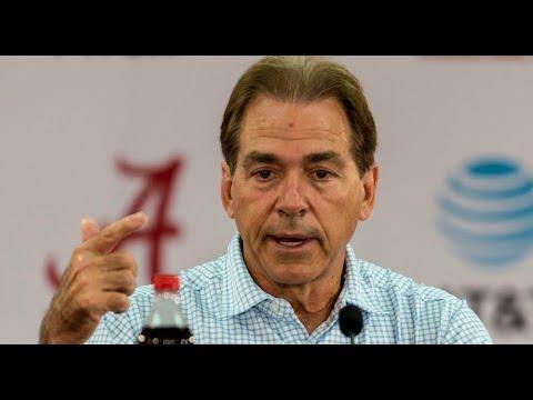 Nick Saban wraps up Texas A&M, looks to Arkansas