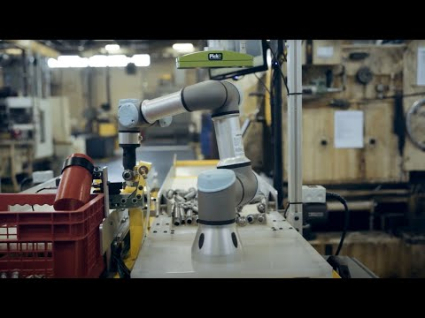 Smart Robot Picks 500 Parts Every Hour With Pickit's Help
