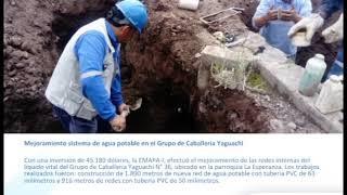 Principales Trabajos Realizados 2018 EMAPA Ibarra