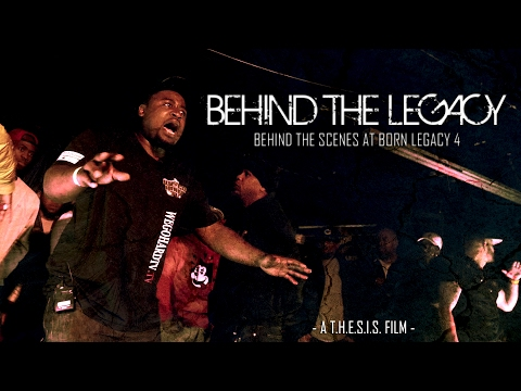BORN LEGACY 4:   BEHIND THE LEGACY   ( DOCUMENTARY ) SMACK/ URL