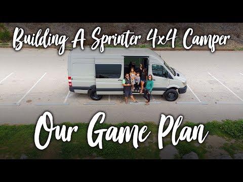 Our Game Plan :: Sprinter 4x4 Camper