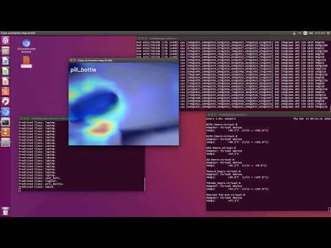 Class Activation Map (CAM) Visualization for Convolutional Neural Network on NVIDIA Jetson TX2