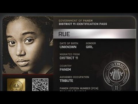 THE HUNGER GAMES's Rue: Littlest Prankster OnScreen and Off