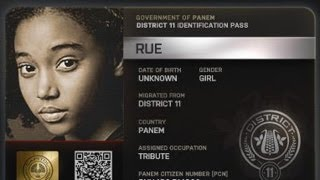 THE HUNGER GAMESs Rue Littlest Prankster On-Screen and Off