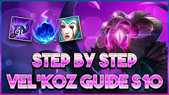 How To Destroy Low Elo w/ Vel'Koz Season 10 | Step by Step Guide To Becoming a Vel'Koz God