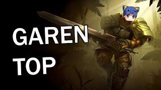 League of Legends - Garen Top - Full Gameplay Commentary