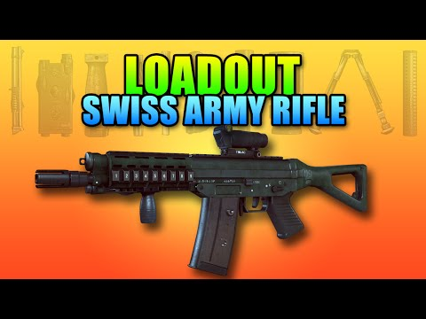 Loadout - Swiss Army Carbine SG 553 & P226 | Battlefield 4 Carbine Gameplay