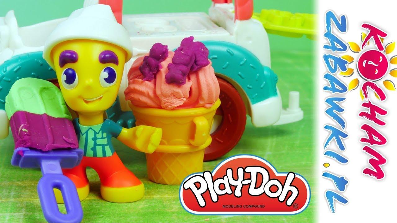 Play Doh Town • Samochód z lodami • Bajki i kreatywne zabawki
