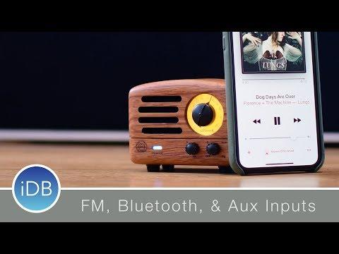 Muzen OTR Wood is a Retro Bluetooth Speaker That Can Stream FM Radio - Review