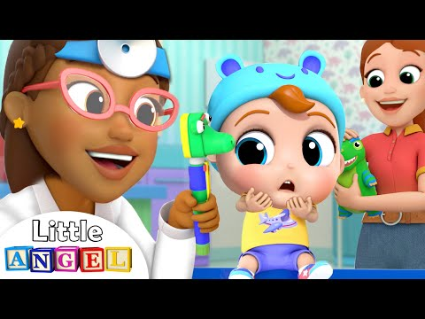 Going To The Doctor | Doctor Checkup Song | Little Angel Kids Songs & Nursery Rhymes