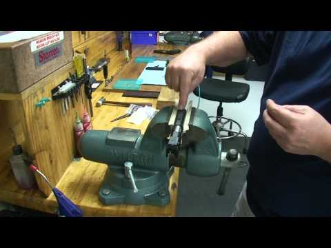 Installing Dovetail Front Sights with Dave Dawson