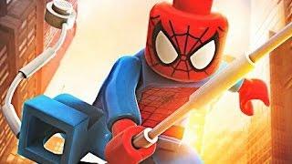Мультфильм лего Спайдермен. Серия 1. Cartoon Lego Spiderman. Series 1. Человек паук.