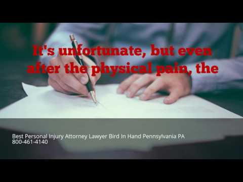 Best Personal Injury Attorney Lawyer Bird In Hand Pennsylvania PA