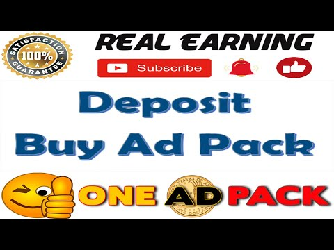 OneAdPack | Deposit and Buy AdPacks | Real Earning