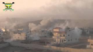 درعا الحارّة :هام: قصف عنيف جدا براجمات الصواريخ والمدفعية على المدينة 5-8-2013ج2