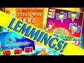 LUCKY LEMMINGS!! I GO INSANE!!  3 BONUSES!! FUN SLOT (MAX BET!) Slot Machine Bonus Win Videos