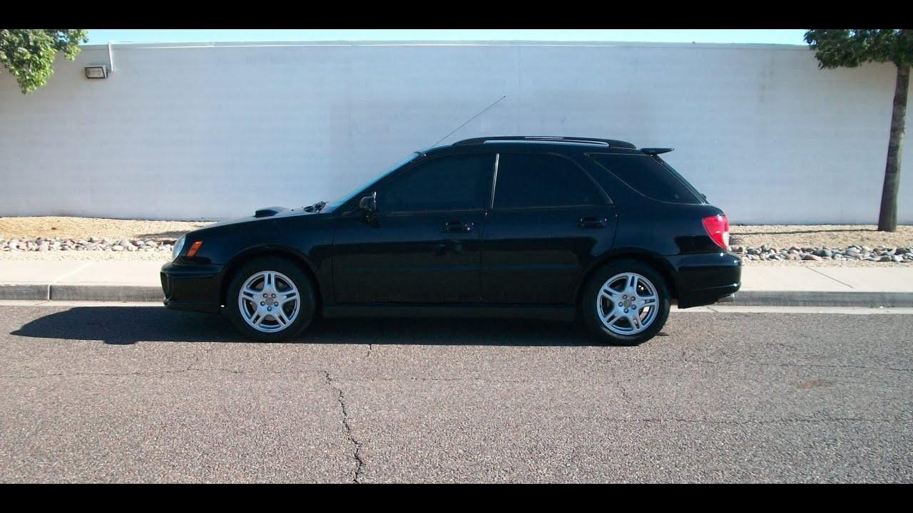 2002 Subaru Impreza Wagon 5dr Wrx Sport Turbo Rear Spoiler Pr1136