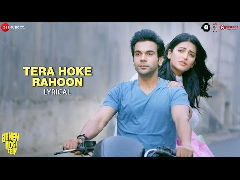 Tera Hoke Rahoon -Lyrical | Arijit Singh|Behen Hogi Teri |Rajkummar Rao, Shruti Haasan |KAG forJAM8