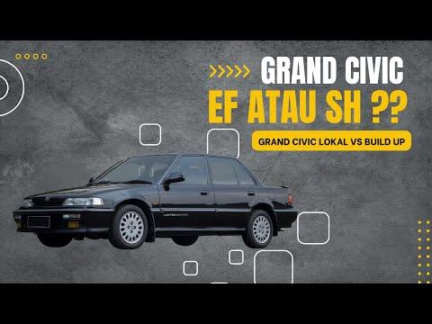 Grand Civic itu SH bukan EF ??